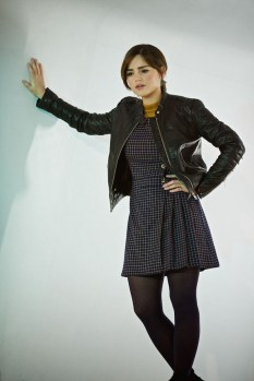 Picture shows: Jenna Coleman as Clara