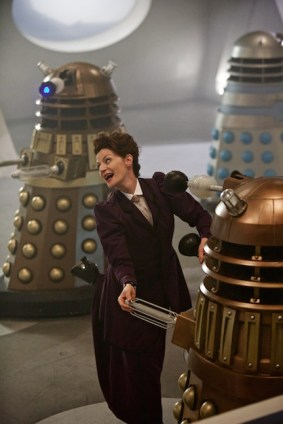 Doctor Who, Season 9, Episode 2, Missy (Michelle Gomez).