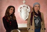 "SCREAM QUEENS: Pictured L-R: Nasim Pedrad as Gigi and Skyler Samuels as Grace in ""Hell Week,"" the second part of the special, two-hour series premiere of SCREAM QUEENS airing Tuesday, Sept. 22 (8:00-10:00 PM ET/PT) on FOX. ©2015 Fox Broadcasting Co. Cr: Steve Dietl/FOX."