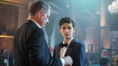 """GOTHAM: (L-R) Alfred (Sean Pertwee) and Bruce (David Mazouz) in """"Rise of the Villains: The Last Laugh"""" episode of GOTHAM airing Monday, Oct. 5 (8:00-9:00 PM ET/PT) on FOX. ©2015 Fox Broadcasting Co. Cr: Nicole Rivelli/FOX."""