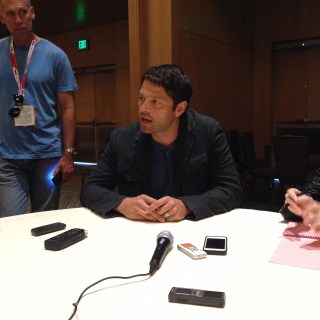 Supernatural Cast Interview at SDCC 2015 with Misha Collins; Photo Credit: We So Nerdy
