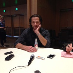 Supernatural Cast Interview at SDCC 2015 with Jared Padalecki; Photo Credit: We So Nerdy