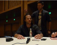 Supernatural Cast Interview at SDCC 2015 with Jared Padalecki featuring Jensen Ackles; Photo Credit: We So Nerdy