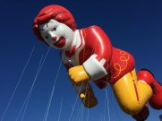 MACY'S THANKSGIVING DAY PARADE -- The 89th Annual Macy's Thanksgiving Day Parade -- Pictured: Ronald McDonald, new balloon -- (Photo by: Macy's, Inc.)