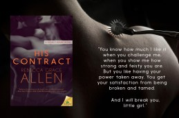 BOOK REVIEW: 'His Contract' by Rebecca Grace Allen—4.5 Stars