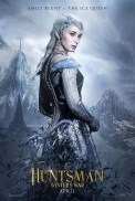 The Huntsman Winter's War Poster; Emily Blunt as Freya The Ice Queen. Courtesy of Universal Pictures.