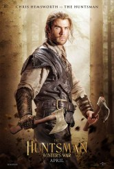 The Huntsman Winter's War Poster; Chris Hemsworth as The Huntsman. Courtesy of Universal Pictures.