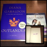 "WSN 2nd Annual Holiday Giveaway; ""Outlander"" DVD and autographed book"