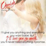 SPOTLIGHT: 'Cherish' by Dani Wyatt
