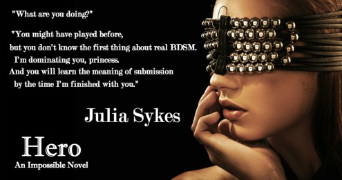 COVER REVEAL: 'Hero' by Julia Sykes