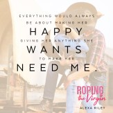 RELEASE DAY BLITZ: 'Roping the Virgin' by Alexa Riley
