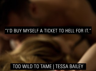 SPOTLIGHT/GIVEAWAY: 'Too Wild To Tame' by Tessa Bailey