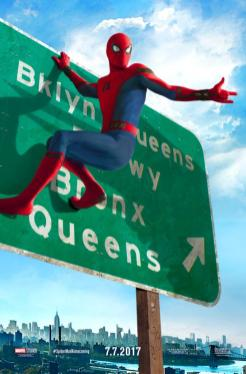 Spider-Man Hangs Out in New 'Homecoming' Posters