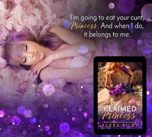SPOTLIGHT/REVIEW: 'Claimed Princess' by Alexa Riley—4 Stars