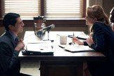 TRIAL & ERROR -- Pilot -- Pictured: (l-r) Nick D'Agosto as Josh, Jayma Mays as Carol Anne -- (Photo by: Tyler Golden/NBC)