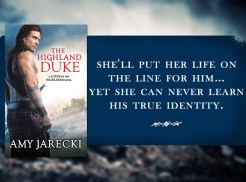 SPOTLIGHT/GIVEAWAY: 'The Highland Duke' by Amy Jarecki