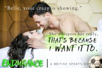 SPOTLIGHT: 'Endurance' by Amy Daws
