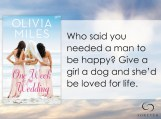 SPOTLIGHT/GIVEAWAY: 'One Week to the Wedding' by Olivia Miles