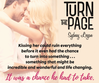 SPOTLIGHT/GIVEAWAY: 'Turn the Page' by Sydney Logan