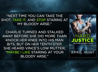 SPOTLIGHT/GIVEAWAY: 'Hard Justice' by April HuntSPOTLIGHT/GIVEAWAY: 'Hard Justice' by April Hunt
