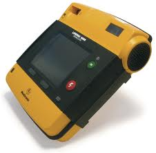 Lifepak 1000 Defibrillator with ECG Display