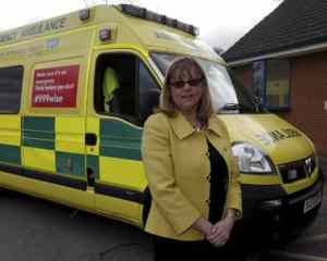 East Midlands Ambulance Service chief executive Sue Noyes