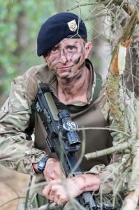 Officer Cadet Benjamin Wilberforce-Ritchie Photo: S/Sgt Mark Nesbit RLC