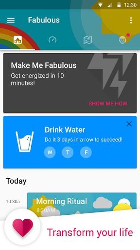Descarga Fabulous Motivame App de Gamificación