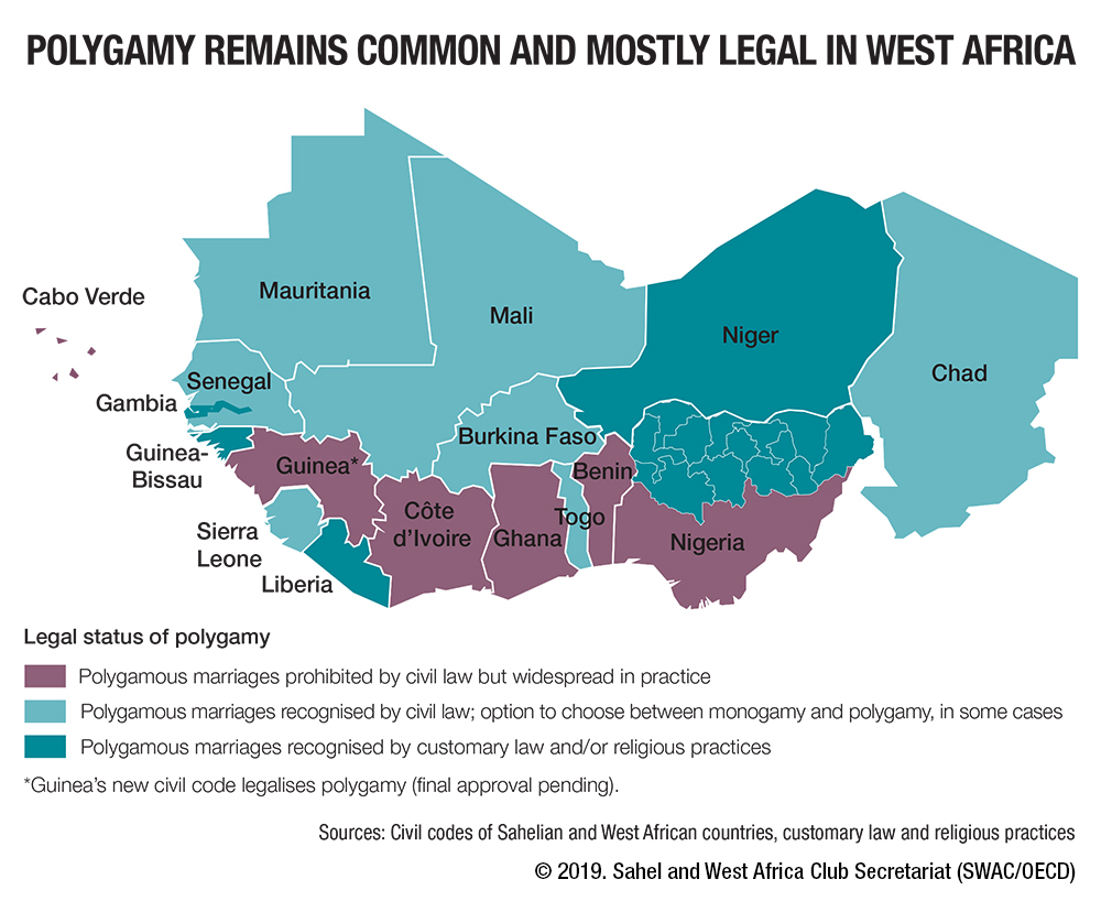 medium resolution of polygamy remains common and mostly legal in west africa west africa gateway portail de l afrique de l ouest