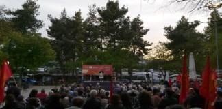 Συγκέντρωση του ΚΚΕ στο Ίλιον, Τετάρτη 15/5/2019
