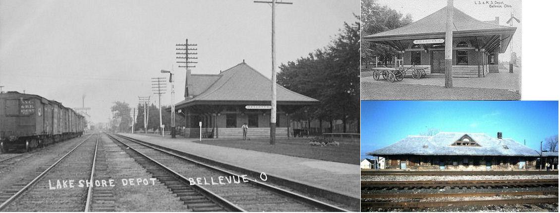 Huron County Ohio Railroad Stations