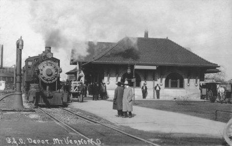 Knox County Ohio Railroad Stations