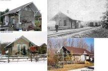 Ashtabula County Ohio Railroad Stations