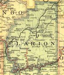 Clarion County Pennsylvania Railroad Stations