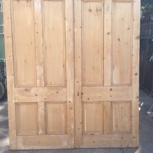 Pair of Victorian 4 panel doors
