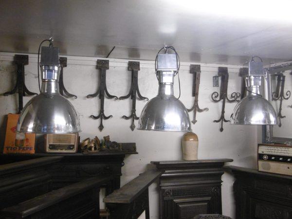 Vintage Aliuminium Industrial Lights