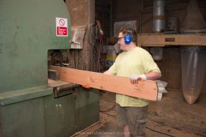 Sawing boards