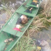 Two female NYSC Members Die as Commercial Bus Plunged Into Water in Rivers state
