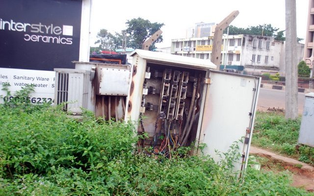 How AEDC Officials collect N15k from each compound to fix Transformer, broken poles
