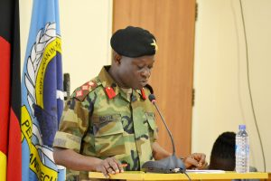 Welcome Address, Col Emmanuel Kotia, KAIPTC