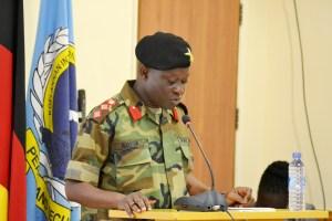 Welcome Address, Col Emmanuel Kotia, KAIPTC