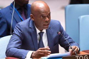 Prof. Robert Dussey Ministre des Affaires étrangères, de la Coopération et de l'intégration Africaine.