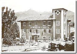 Albergo Bellavista in den 30er Jahren - Meana - Susatal