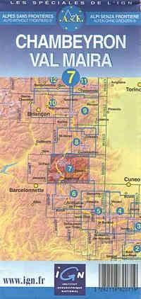 AsF-Karte Nr. 7 - Chambeyron / Val Maira