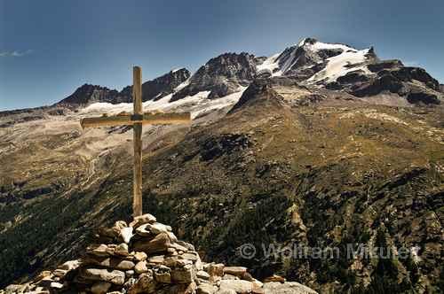 Croce di Arolley und Gran Paradiso