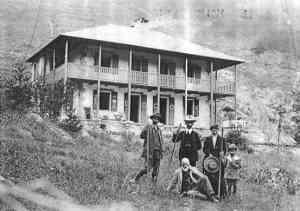Casa Fontanalba - Aufnahme um 1910