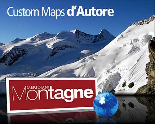 Custom Maps d'Autore - Meridiani Montagne
