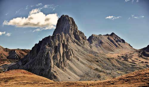 Mairatal - Gardetta-Hochebene und Rocca la Meja, Foto: © Wolfram Mikuteit