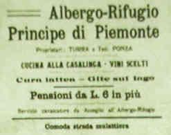 Albergo-Rifugio Principe di Piemonte