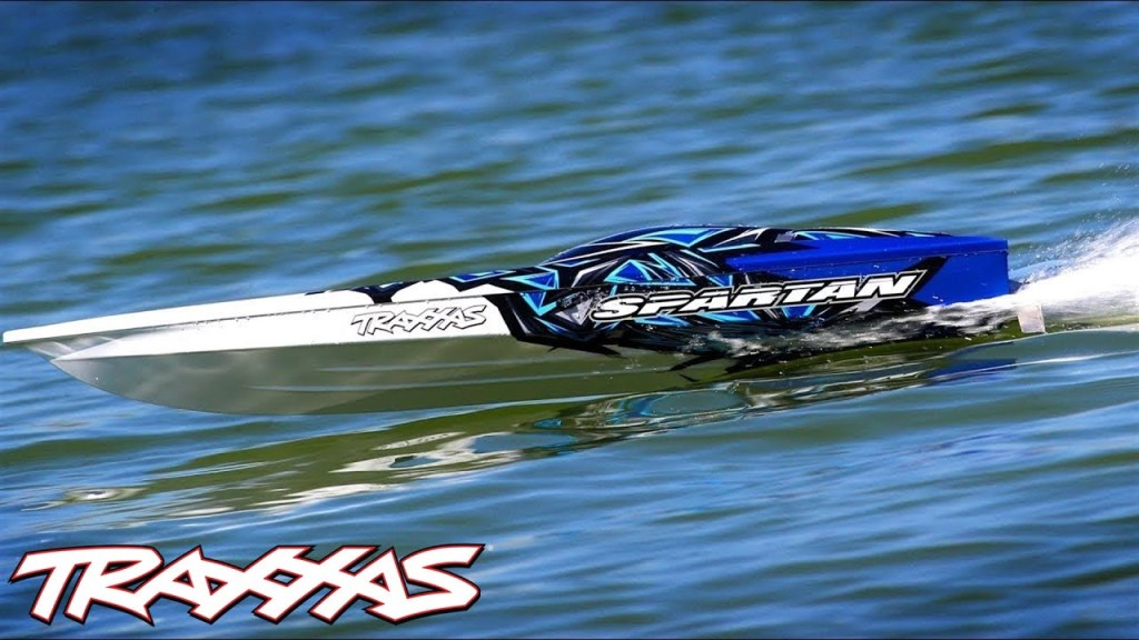 50+MPH Fun on the Water | Traxxas Spartan